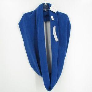 Calvin Klein Royal Blue Acrylic Infinity Scarf